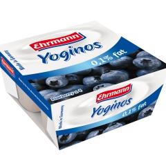 爱尔曼低脂蓝莓酸奶4*100g
