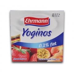 爱尔曼低脂草莓/低脂桃子热情果酸奶