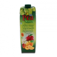 莉亚什锦(3种)果汁饮料1L